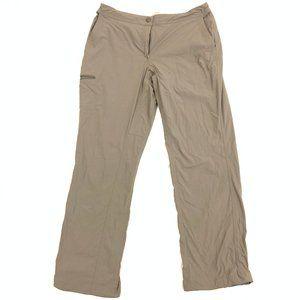 LL BEAN Nylon Hiking Cargo Quick Dry Pants 12